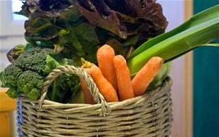 AMAP panier de légumes