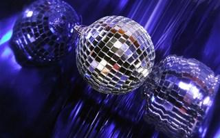 Boule à facette discothèque