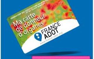 Carte donneur d'organes