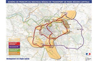 Carte du Grand Paris
