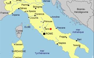 Carte Italie Centre.Seisme En Italie Bilan Provisoire De 27 Morts