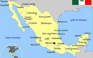 Carte du Mexique