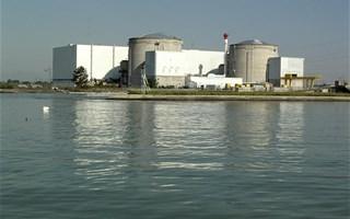 La centrale nucléaire de Fessenheim à l'arrêt