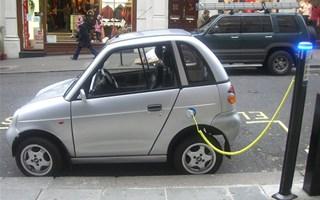 Chargement voiture électrique