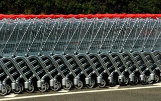 Chariots de la grande distribution
