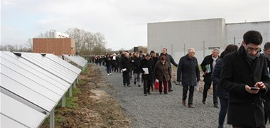 Châteaubriant inaugure sa centrale solaire thermique