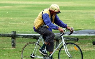 Cycliste senior