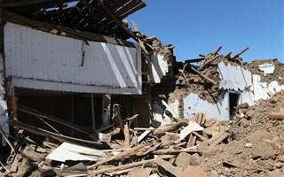 Dégâts d'un tremblement de terre