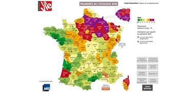 Quels sont les départements les plus écologiques de France ?