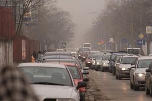 Embouteillages de voitures