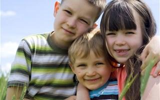 Enfants famille nombreuse