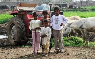 Enfants pauvres du Pakistan