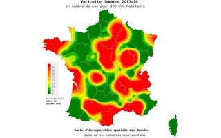 Epidémie varicelle mai 2013