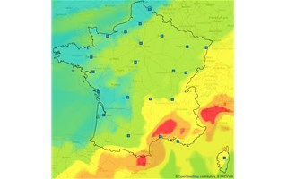 Episode de pollution à l'ozone dans le sud de l'hexagone