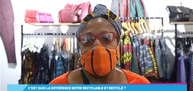 C'est quoi la différence entre recyclable et recyclé ?