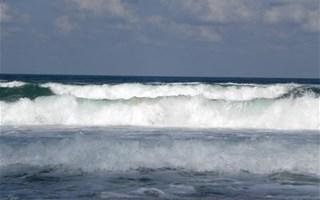 Grandes vagues sur l'océan