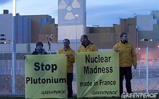 Greepeace stop plutonium