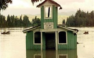 Inondation d'une maison