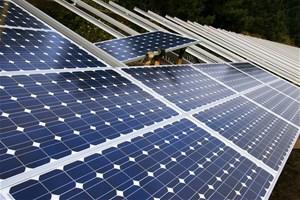 Installation d'une centrale solaire