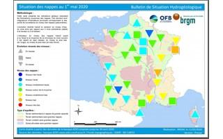 Nappes phréatiques : des réserves d'eau inégales selon les régions