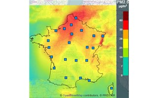 Pic de pollution de l'air à Paris, en Picardie, Normandie et Nord-Pas-de-Calais