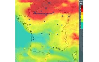 Pic de pollution aux particules fines dans tout le nord de la France