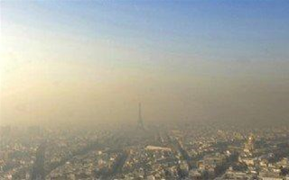 Pollution de l'air Paris