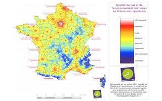 La pollution lumineuse toujours fortement en hausse