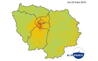 Pollution aux particules : la circulation alternée mise en place aujourd'hui en Ile-de-France