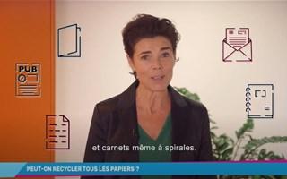 Peut-on recycler tous les papiers ?