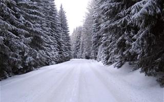Route neige et verglas