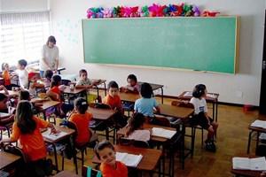 Salle de classe école primaire
