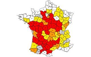 Sécheresse : 66 départements en restriction d'eau