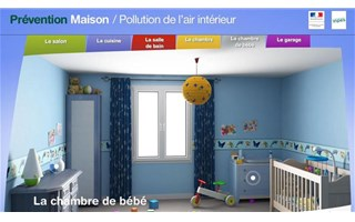 Site pollution de l'air intérieur