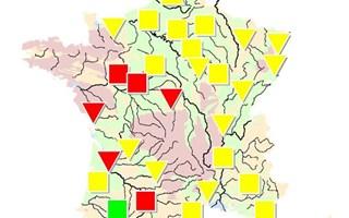 Situation nappes phréatiques 1er avril 2012