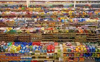 Supermarché grande distribution