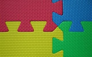 Tapis puzzle au formamide