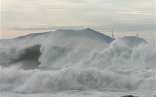 Tempête et vagues
