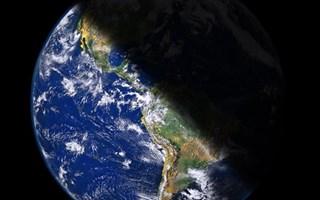 Terre dans espace