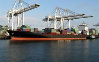 Transport maritime chargement bateau