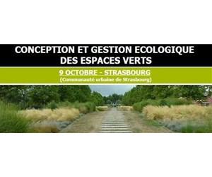Journée Conception et gestion écologique des espaces verts