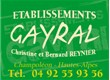 Etablissements Gayral