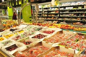 Courses au supermarché