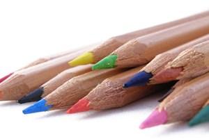 Crayons de couleur écologiques