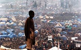 Camp de réfugiés au Rwanda