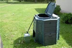 Composteur et poubelle à déchets organiques