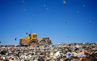 Décharge de déchets à ciel ouvert