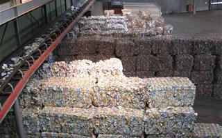 usine de recyclage déchets