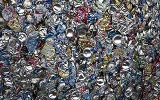 Matières premières recyclage de canettes