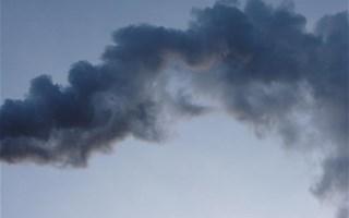Fumée ciel